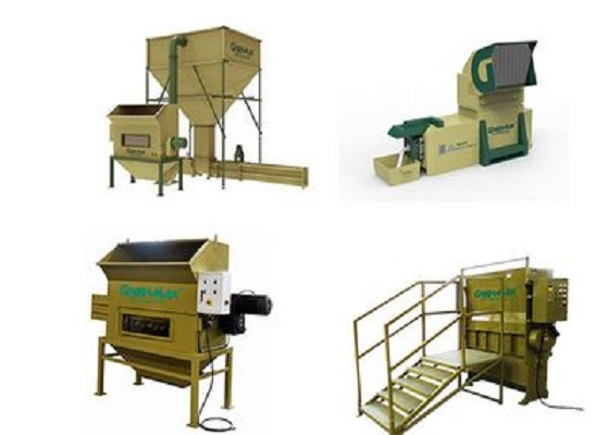 EPS foam recycling machines