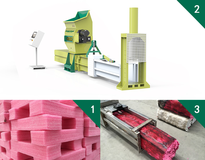 Polyethylene Foam recycling