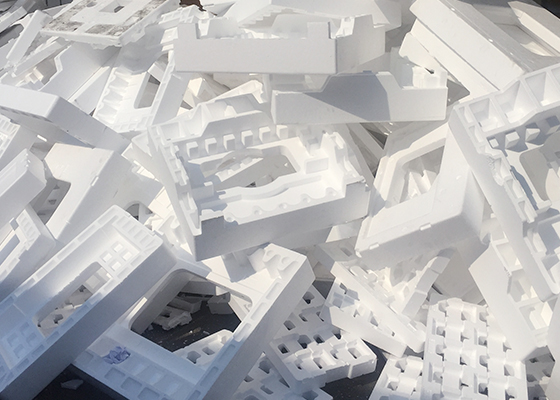 Styrofoam recycling solutions supplied by INTCO RECYCLING