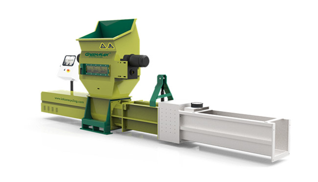 High quality GREENMAX ZEUS C200 EPS and PE foam compactor