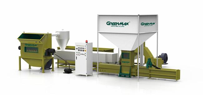 EPS Compactor | Styrofoam Recycling Densifier - GREENMAX