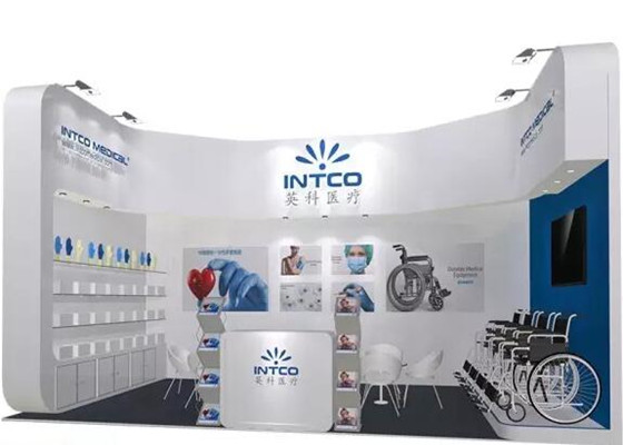 Exhibition Booth Equipment : Intco will attend the th china international medical