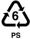 recycling symbol 6